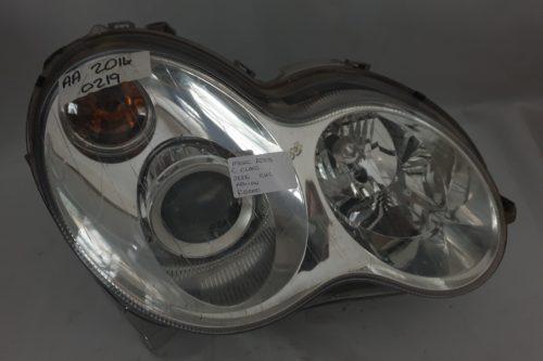 2006 Mercedes A203 C Class RHS Xenon Headlight